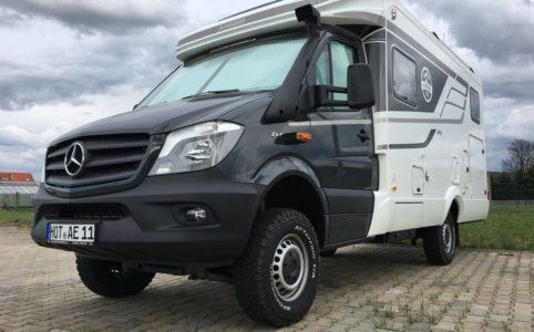 4x4 Reisemobil Hymer M-LT 580