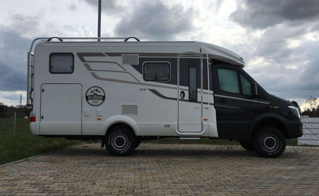 4×4 Reisemobil Hymer M-LT 580