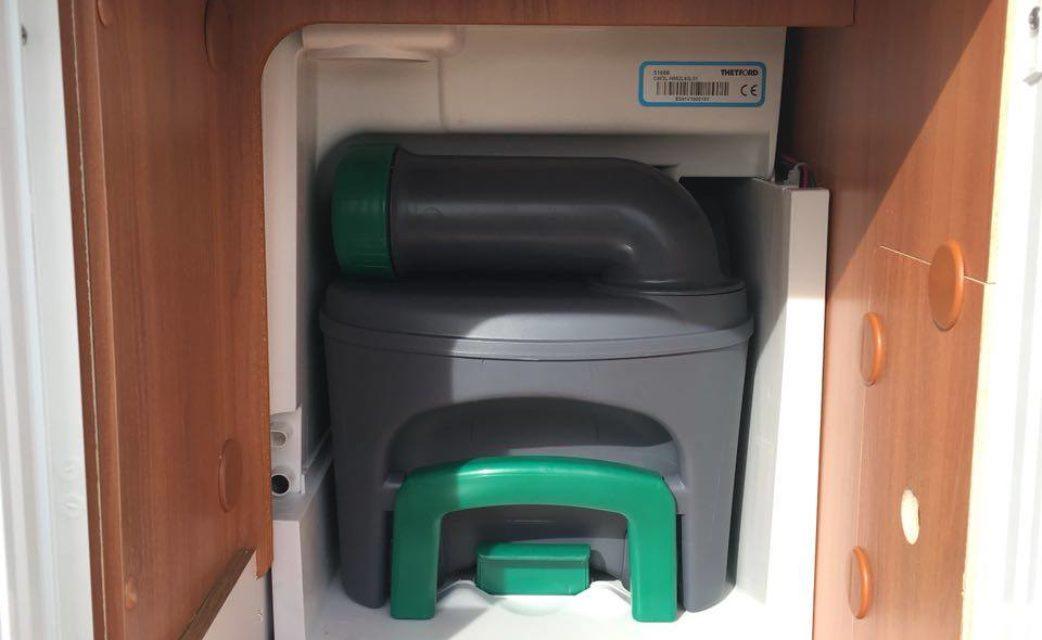 Chemietoilette Hymer M-LT 580