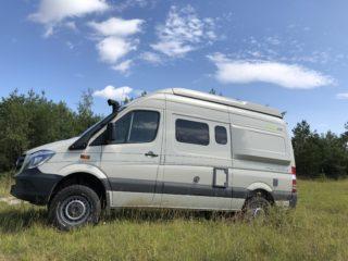Naturelebnis pur mit Reisemobil Hymer Grand Canyon S