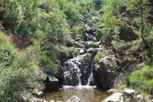 Idylle in den Bergen von Albanien