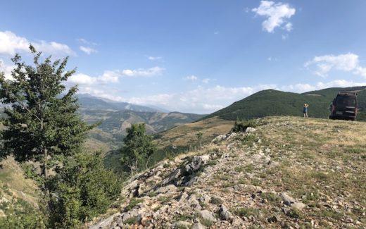 Hoch oben in Albanien