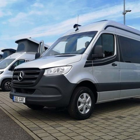 Allradcamper Hymer DuoCar S Frontansicht