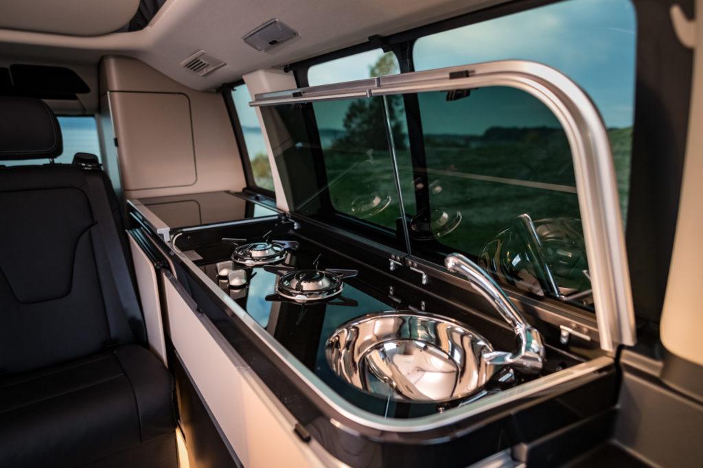 Die Küchenzeile im Mercedes Marko Polo