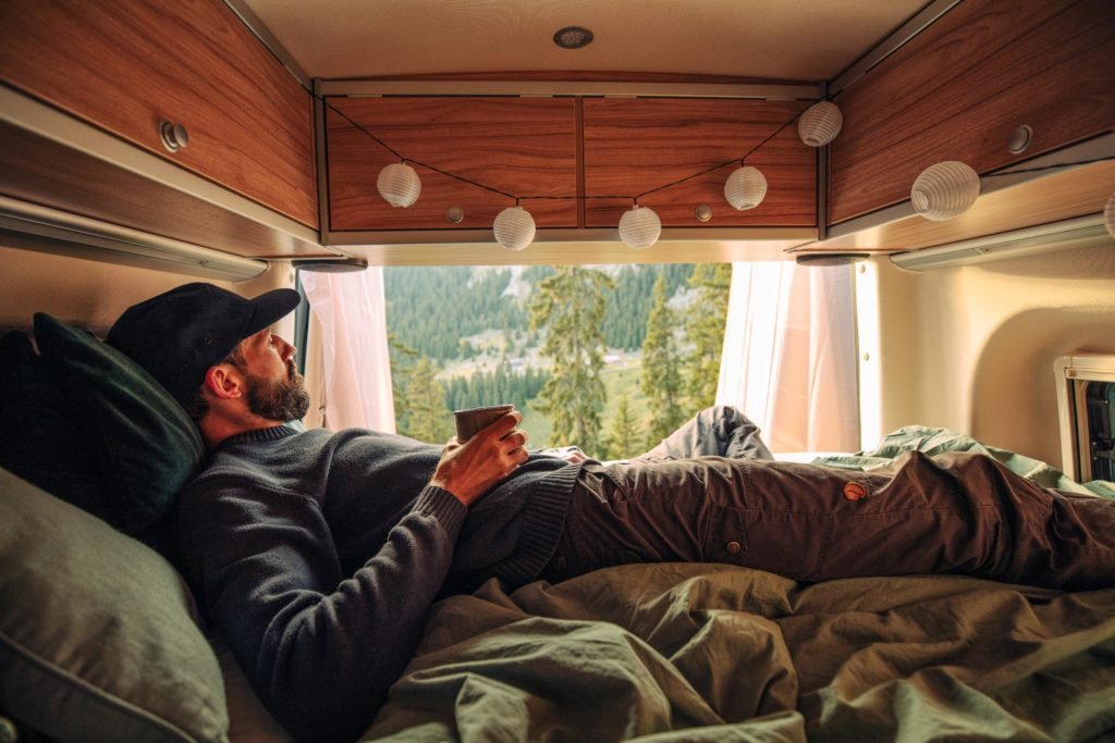 Vanlife mit dem Allradwohnmobil in den Bergen