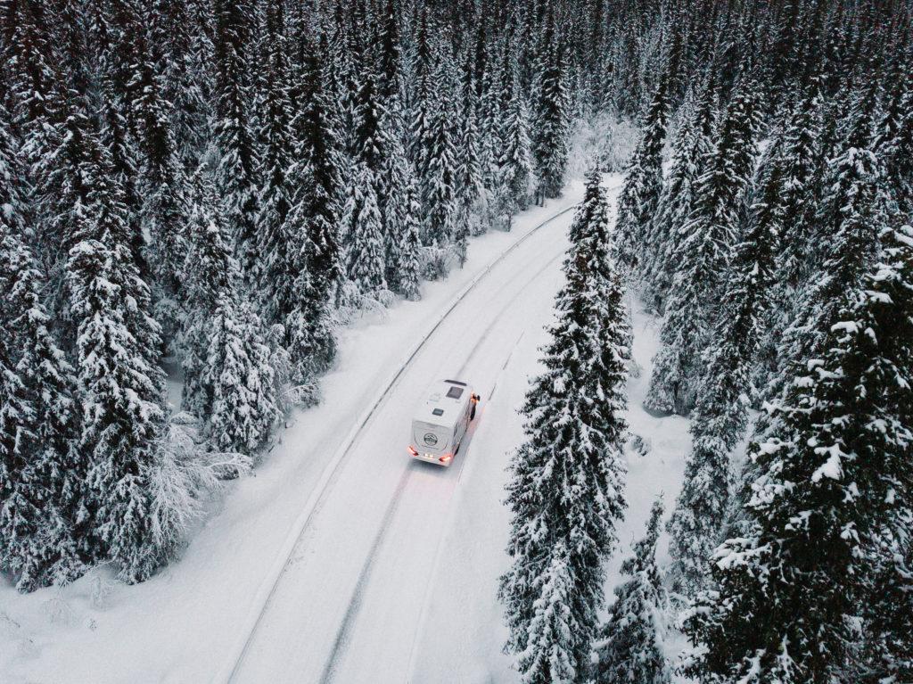 Wohnmobil mieten für Norwegenurlaub im Winter