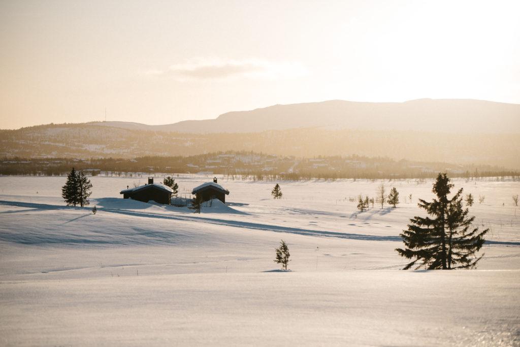 Winterparadies in Norwegen