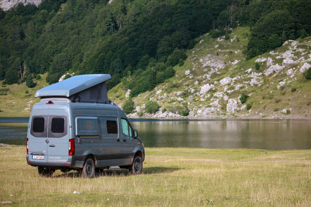 Nur mit Allrad zum Rikavačko jezero in Montenegro