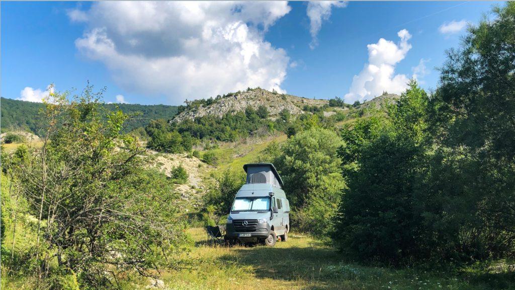 Freistehen im 1.000 Sterne Hotel mit dem Offroad-Camper