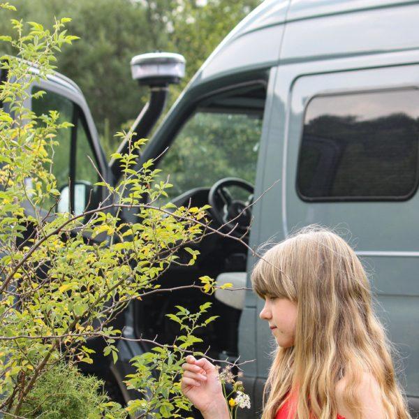 Offroad-Camper suchen Einklang mit der Umwelt und der Natur