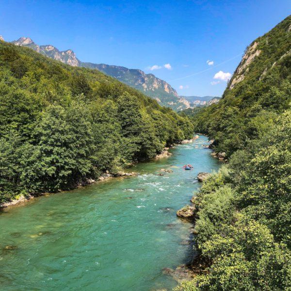 Tara Rafting zwischen Bosnien und Herzegowina und Montenegro