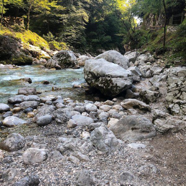 Tolminer Klammen im Triglav Nationalpark