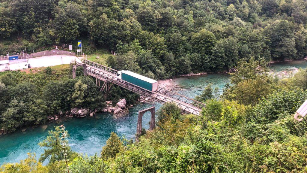 Tara als Grenzfluss zwischen Bosnien und Herzegowina und Montenegro