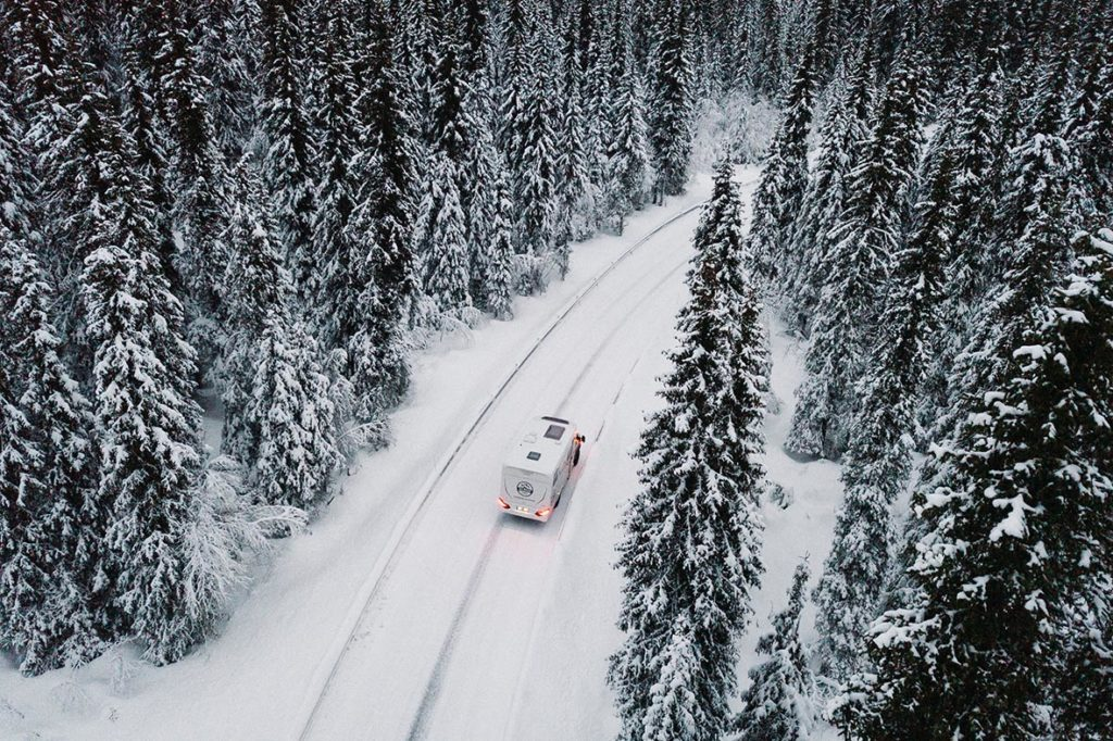 Im Winter mit dem Allradcamper nach Skandinavien reisen