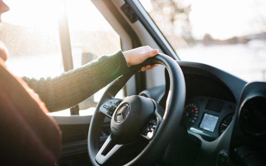 Mercedes Wohnmobil erfordert meist die Führerscheinklasse 3 oder C1