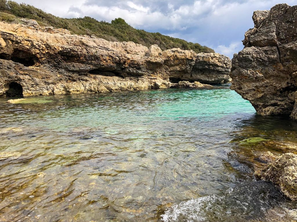 Kristallklares Wasser am Kap Kamanjak Istrien Kroatien