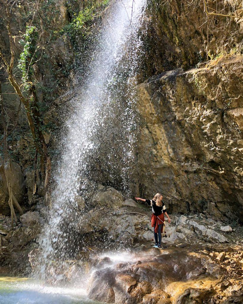 Wasserfall in Istrien Kroatien